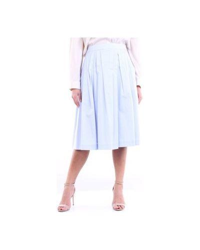 Niebieska spódniczka mini Cappellini