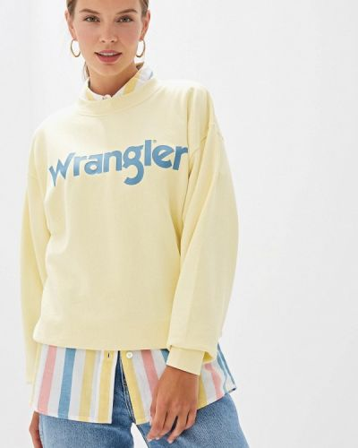 Свитшот желтый Wrangler