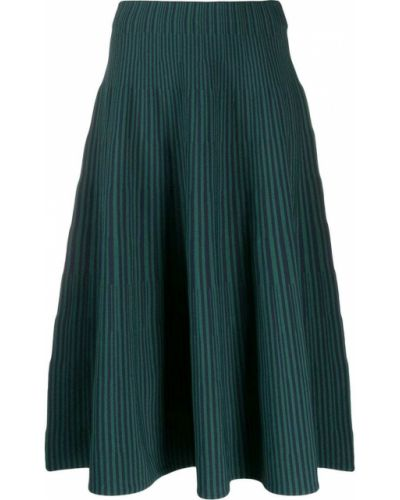 Плиссированная юбка с завышенной талией макси Cedric Charlier