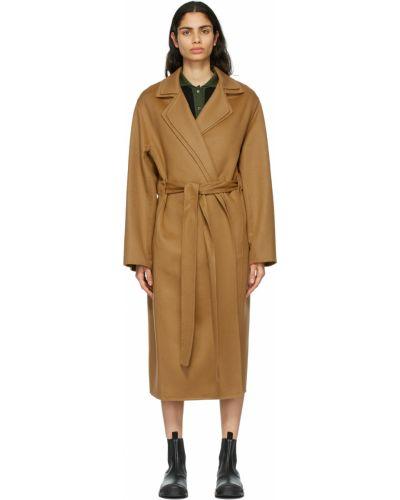 Пальто с воротником Loewe