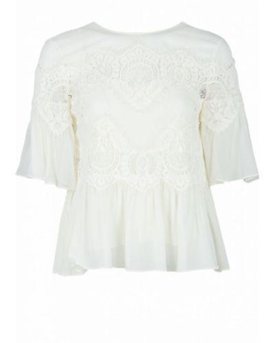 Блузка кружевная с поясом Twin-set