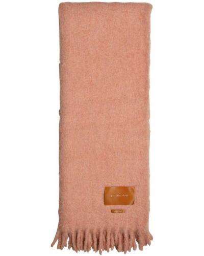 Różowy szalik Rejina Pyo