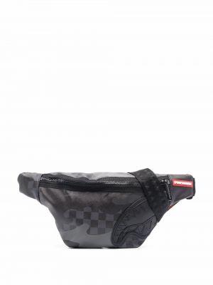 Поясная сумка - черная Sprayground
