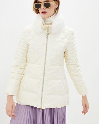 Утепленная белая куртка Blugirl Folies
