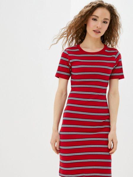 Платье прямое красный Brave Soul
