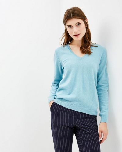 Голубой пуловер 2018 United Colors Of Benetton