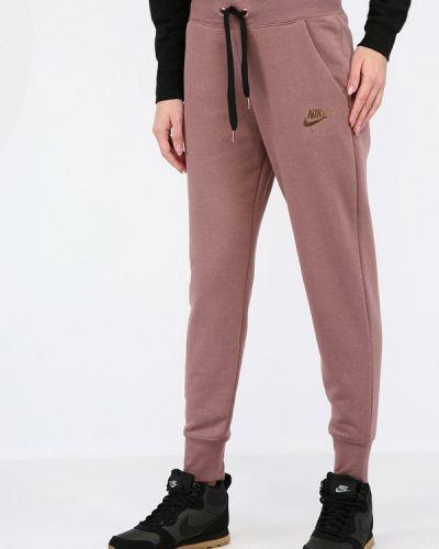 Розовые спортивные брюки Nike