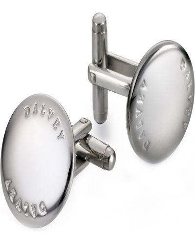 Запонки из серебра серебряный Dalvey