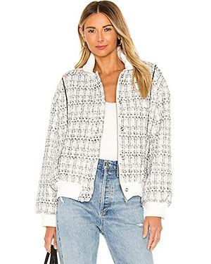 Кожаная куртка на пуговицах с карманами Lovers + Friends