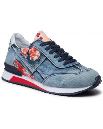 Sneakersy - niebieskie Desigual