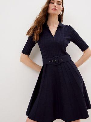 Повседневное синее платье Ted Baker London