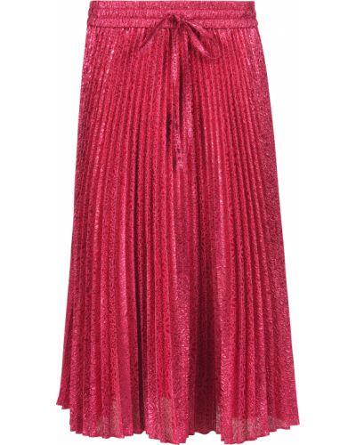 Юбка металлическая - розовая Red Valentino