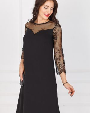 Кружевное платье - черное Taiga