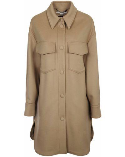 Brązowy płaszcz Stella Mccartney