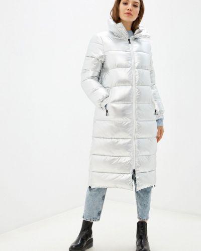 Серебряная утепленная куртка Oakwood