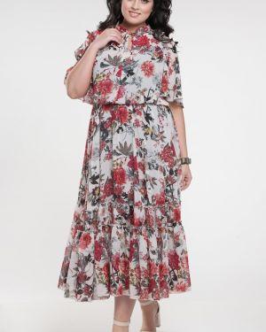Шифоновое платье прима линия