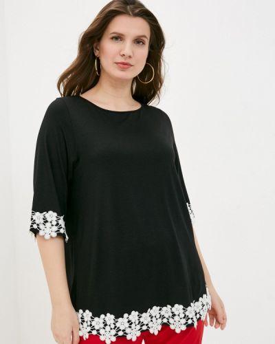 Черная блузка Sophia
