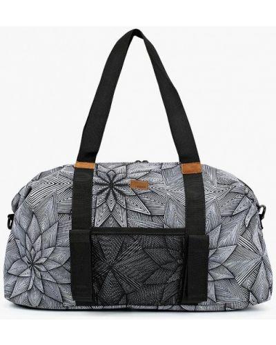 Серая спортивная сумка Roxy