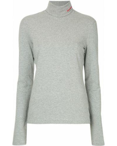 Топ с американской проймой серый Calvin Klein 205w39nyc