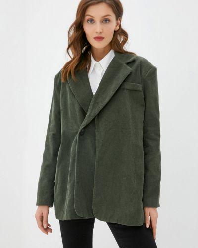 Зеленый пиджак B.style