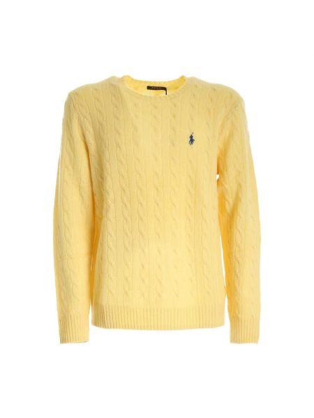 T-shirt z długimi rękawami - żółta Polo Ralph Lauren