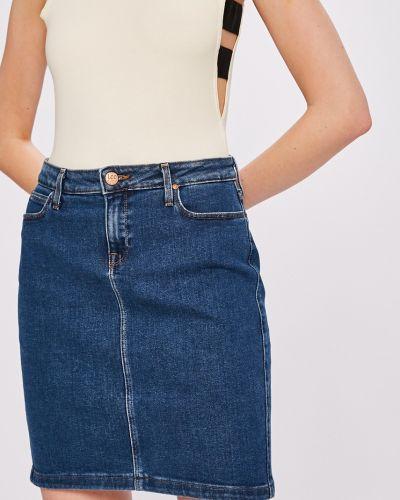 Джинсовая юбка на пуговицах карандаш Lee