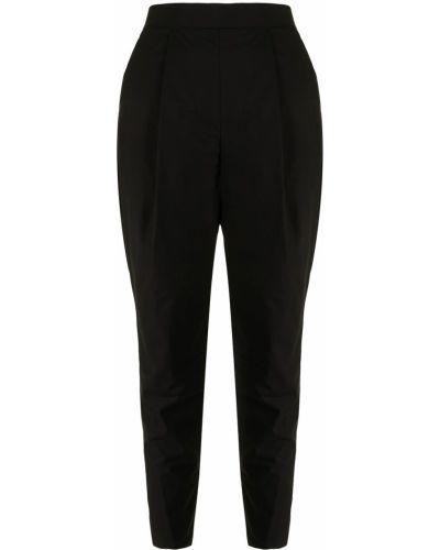 Spodnie z wysokim stanem - czarne Enfold