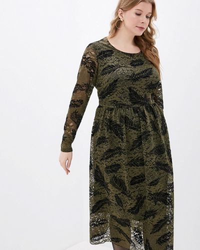 Повседневное платье осеннее зеленый Studio Untold