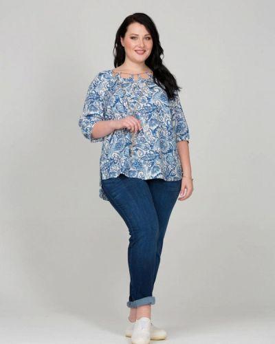 Голубая блузка Intikoma