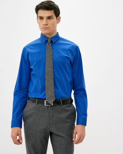 Синяя рубашка с длинным рукавом Btc