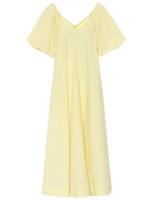 Летнее платье с завышенной талией из поплина Co