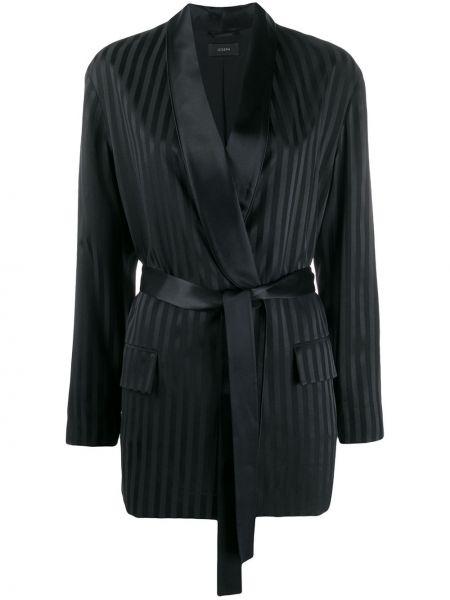 Куртка черная с карманами Joseph