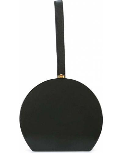 Черная сумка круглая Rocio