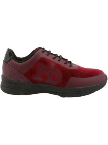 Czerwone sneakersy Roccobarocco