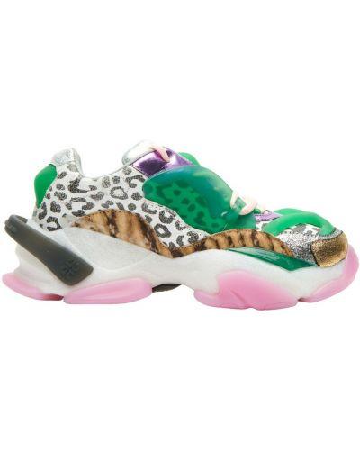 Zielone sneakersy Cljd