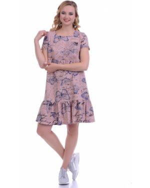 Летнее платье мини миди Lautus