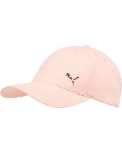 Pomarańczowa czapka z daszkiem na rzepy Puma
