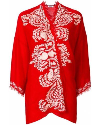 Красное кимоно P.a.r.o.s.h.