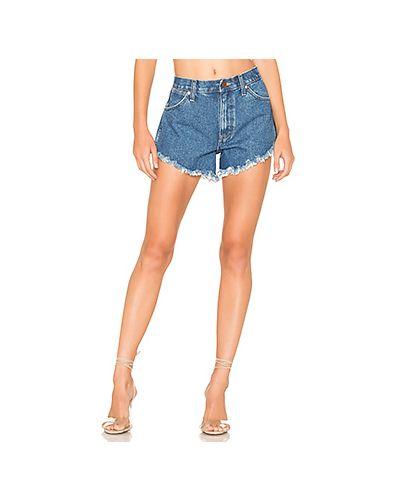 Джинсовые шорты с карманами Wrangler