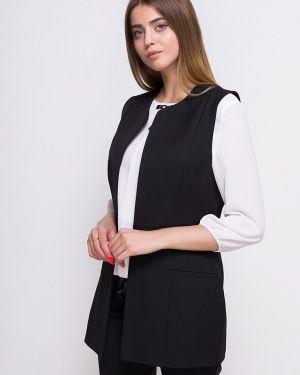 Черный костюм с жилетом Zubrytskaya