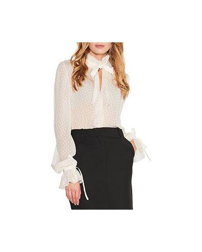 Блузка белая ли-лу