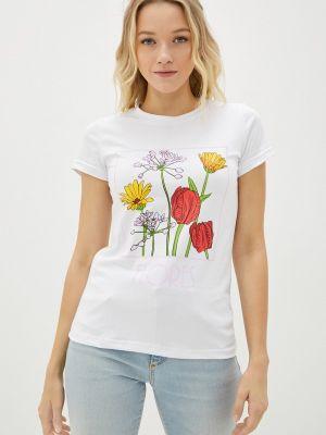 Белая футболка осенняя Winzor