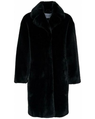 Czarny płaszcz Stand Studio