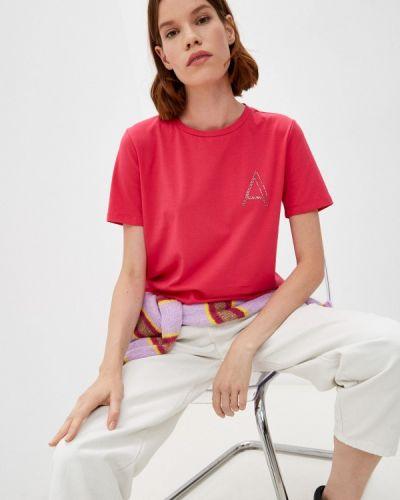 Розовая футболка осенняя Twinset Milano