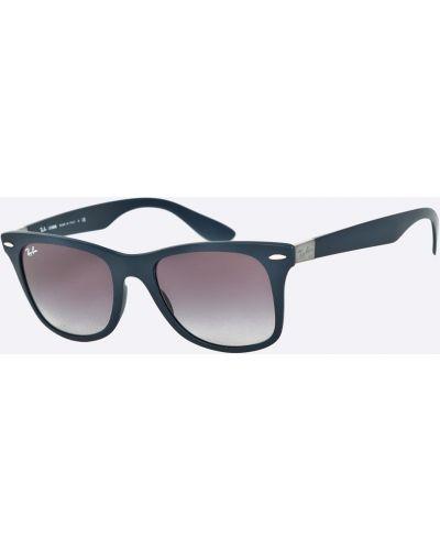 Солнцезащитные очки вайфареры стеклянные Ray-ban