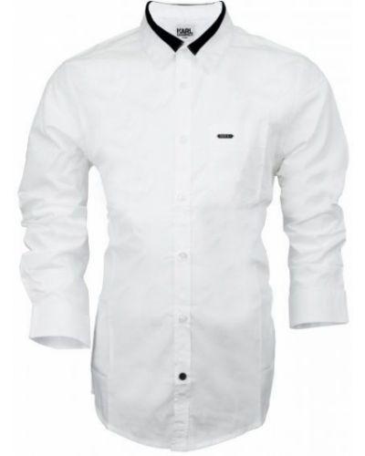 Брендовая с рукавами рубашка Karl Lagerfeld