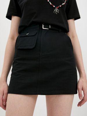 Черная юбка Indiano Natural