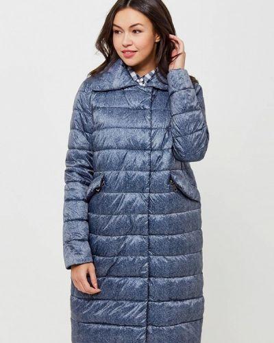 Синяя утепленная куртка Grishko