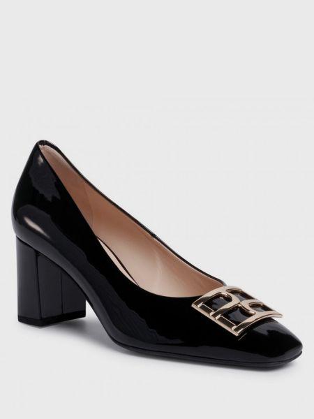 Кожаные туфли - черные Hogl