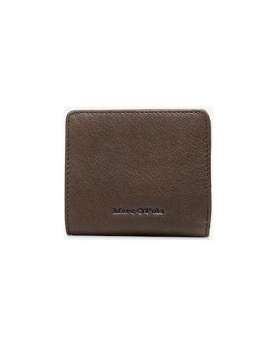 Brązowy portfel skórzany Marc O Polo